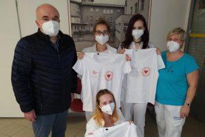 Ředitel školy ocenil přístup našich žákyň oboru Ošetřovatel