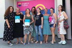Učitelé na studiu angličtiny na Kypru